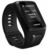 TomTom Spark 3 Cardio+Music Orologio GPS per il Fitness, Cardiofrequenzimetro Integrato, Lettore Musicale Integrato, Activity Tracker 24/7, Cinturino Large, Nero