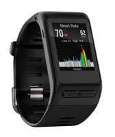 Garmin Vivoactive HR Regular Smartwatch con Cardio al Polso, Profili d'Attività Fisica, Cinturino Regular (M-L), Nero