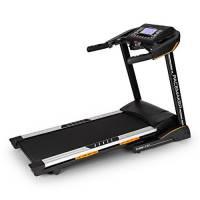 CAPITAL SPORTS Pacemaker X30 treadmill • tapis roulant • 22 km / h • LCD • 36 programmi • Misuratore impulsi • Ricevitore radio • Inclinazione 0% - 20% • altoparlanti integrati • pieghevole • nero