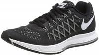 Nike Wmns Air Zoom Pegasus 32, Scarpe da Ginnastica, Donna, Nero (Black/White-Pure Platinum), 38
