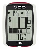 VDO Ciclocomputer M5 Wireless con Fascia Cardio, Sensore di Cadenza e Sensore di Velocità