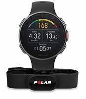 Polar Vantage V, Sportwatch per Allenamenti Multisport e Triathlon, con Sensore H10, Impermeabile con GPS e Cardiofrequenzimetro Integrato, Unisex Adulto, Nero