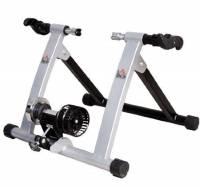 Rullo per bicicletta, per allenamento in casa, argento - NUOVO