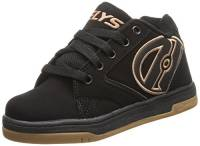 Heelys Propel 2.0, Sneaker a Collo Basso Bambino, Nero (Black/Gum), 36.5 EU