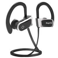 Cuffie Bluetooth, Bagotte Auricolari Bluetooth Sport in-Ear Cuffie Senza Fili Bluetooth 4.1 IPX7 Impermeabile AptX CVC 6.0 Autonomia Batteria Fino a 8 ore con EVA Borsa per iPhone e Andoird