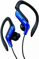 JVC Auricolari Sport con Clip Regolabile, Antisudore e Antischizzo (IPX2), Cavo 1.2 M, Azzurro