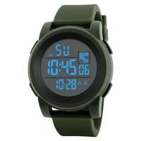 Orologio Elettronico,Kword Uomini di Lusso Sport Watch, Orologio da Polso Digitale LED, Militare Orologio Analogico Dell'Esercito, Impermeabile Fitness Tracker (Verde)