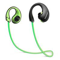 Tronsmart Cuffie Bluetooth Sport, Auricolari Bluetooth 4.1 Earphone Impermeabili IP66 con Luci a LED e Microfono,6 ore di Emissioni a Mani Libere Compatibili iPhone Android