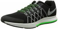 Nike Zoom Pegasus 32 Flash GS Scarpe Sportive, Ragazzo, Black/Reflect Silver-Pr Pltnm, 37.5