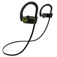 Cuffie Bluetooth V4.1 Arbily Wireless Bluetooth Auricolare In-Ear Stereo Sports Noise Cancelling Cuffie Sportive headphone per Running/ Impermeabile/ Esercizio / sweatproof headset con Microfono per iOS, Android, iPad, Smartphone