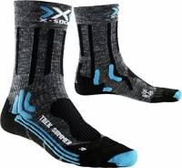 X-Socks Trekking Summer, Calze Donna, Antracite/Nero, 37/38