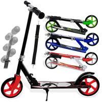 Kesser Scooter Roller Kinderroller Cityroller Tretroller Kickroller Kickscooter, Design/Farbe:Panther (White)