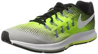 Nike Air Zoom Pegasus 33, Scarpe da Corsa Uomo, Multicolore (Silber Matt/Weiß/Volt/Schwarz), 44 EU
