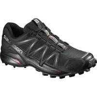 the best attitude d9aec f3ef7 Salomon Speedcross 4, Scarpe da Trail Running Uomo, Nero (SchwarzSchwarz