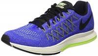 Nike Air Zoom Pegasus 32, Scarpe da Corsa Uomo Multicolore Azul/Negro/Verde (Racer Blue/Black-Volt-Brly Vlt) 42 1/2