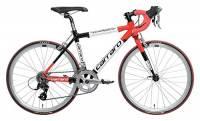 """Carraro 903 D'Ambiez 22"""", Bici Corsa Bambini, Rosso/Nero, S"""
