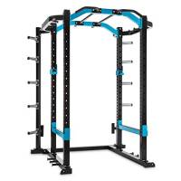 CAPITAL SPORTS Amazor P • Power Rack • Power Cage • Centrale elettrica • 2x Spotter di sicurezza: max. 500 kg • 2x J-Coppe: max. 350 kg • Monkey Bar • Acciaio • 10 x registrazioni del peso • nero