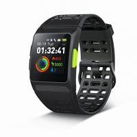 GPS running Watch, P1Smart Watch HRV analisi della frequenza cardiaca/pelo/affaticamento monitor IP67impermeabile fitness tracker con SMS modalità multi-sports color touch screen per Android e iOS