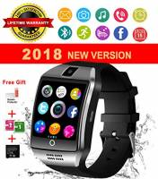 Smartwatch Android, Impermeabile Bluetooth Smart Watch Telefono con Fotocamera SIM Card Slot Touch Screen Pedometro Orologio Intelligente Elegante Fitness Sport Wrist Watch Braccialetto per Uomo Donna Bambini per Android Huawei Sony Samsung e iOS Apple iPhone Smartphone