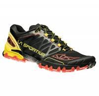 La Sportiva Bushido, Scarpe da Trail Running Uomo, Multicolore (Nero/Giallo 000), 44 EU