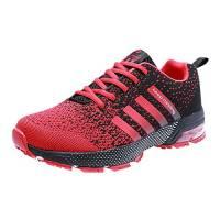 buy popular 33037 97a33 PAMRAY Scarpe da Ginnastica da Uomo Running Sportive Donna Air Cushion  Atletico Allacciare 3cm Sneakers 44