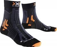 X-Socks Trail Run Energy Calze, Uomo, Nero/Antracite, 42/44