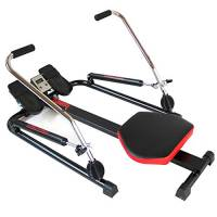 YELLOO Vogatore TIGER Power Rower Pistoni Idraulici Palestra Fitness Braccia RM4030
