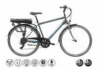 F.lli Schiano E- Light 1.0, Bicicletta elettrica Men's, Antracite, 28''