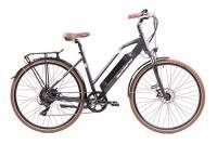 F.lli Schiano E- voke, Bicicletta elettrica Unisex Adulto, Nera, 28''