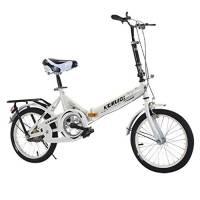 Rmoon Bici Pieghevole 20 Pollici Mini Bicicletta Pieghevole Portatile Leggera Pieghevole per Adulto Alunno Bicicletta