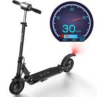 Monopattino Elettrico, 30 Km di Autonomia, velocità Fino a 30 Km/h, 350W Scooter Elettrico Pieghevole Unisex Adulto - S1