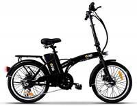 """the one Bicicletta Elettrica Pieghevole A Pedalata Assistita 20"""" 250w Easy Matt Black, Nera Unisex adulto, no size"""