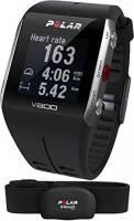 Polar V800 Orologio GPS multisport per monitoraggio attività fisica, altimetro barometrico, con fascia cardio bluetooth smart, Nero/Grigio
