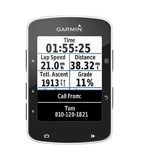 Garmin Edge 520 GPS Bike Computer senza Fascia Cardio e Sensori a Cadenza/Velocità, Smart Notification, Connessione ANT+